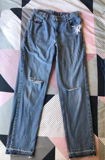 Vintage denim jeans from NYC