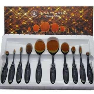 ANASTASIA  blending brush set (10 pieces)
