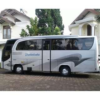 Sewa mobil Medium Bus (27-32 seat) di Jakarta, hanya 1,8 juta + driver + BBM.