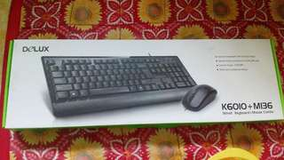 Keyboard with mouse and mouse pad (Set)