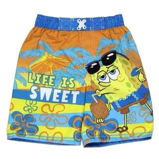 BN Sponge Bob Toddler Swim Shorts