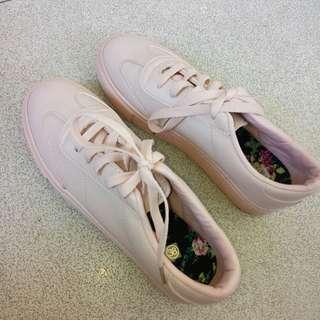 Pastel Pink Sneakers