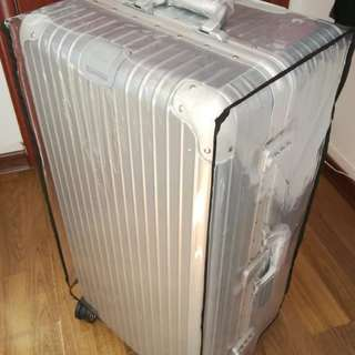 """34"""" 103L Salsa Sport Silver Aluminium Alloy Luggage, Rimowa inspired design and function"""