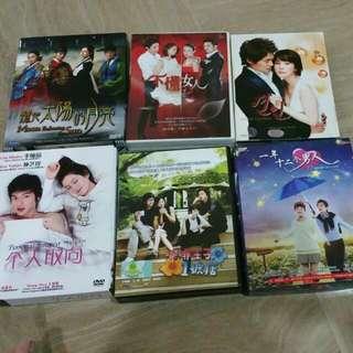KOREAN DVDS
