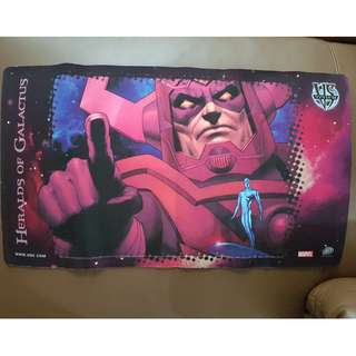 $20 PLAYMAT /  MOUSE PAD HERALD OF GALACTUS (MARVEL DC VS SYSTEM)