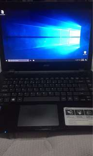SECOND HAND ACER LAPTOP (Price Negotiable)