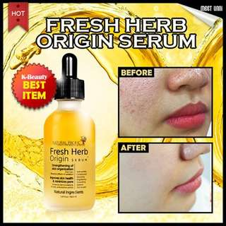 Natural pacific fresh herb serum share in botol pipet 5ml
