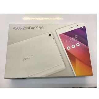 二手美機 ASUS ZenpadS 8.0 Z580CA 64G 白色 空機 追劇神器