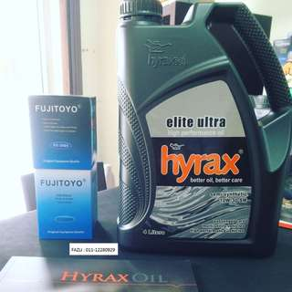 Engine Oil / Minyak Enjin Hyrax Oil Semi Syntehtic 10W40 High Performance