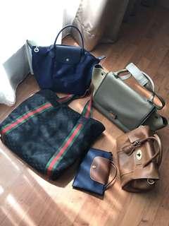 Authentic Celine Gucci Mulberry Longchamp Bag