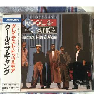 Kool &the gang greatest hits(Japan edition)