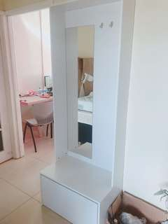 Brand new shoes cabinet for sale with hanging space