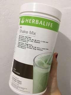 Herbalife F1 Choco Mint