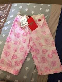 專櫃正品kenzo童裝長褲一歲原價$:2480