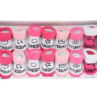 Baby Boy/Girl socks set of 7