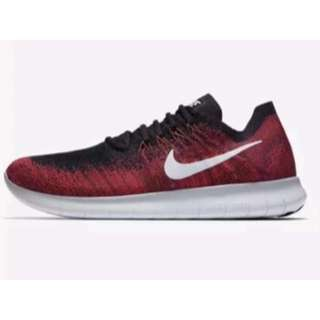 NIKE MEN FREE RN FLYKNIT 2017 RED *SIZE LIMITED*