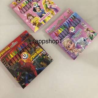 Crayon for kids party goody bag, goodies bag gift, goodie bag packages