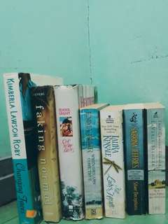 7 Assorted Fiction Books