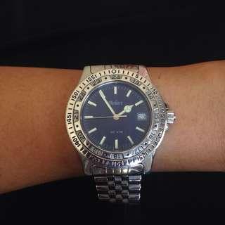 Belair stainless steel watch