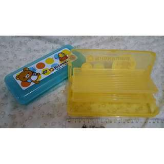 (全新)懶懶熊/鉛筆盒2入
