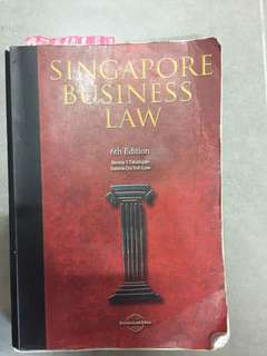 Singapore Business Law 6ed