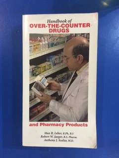 Handbook of Over-the-counter Drugs and Pharmacy Products