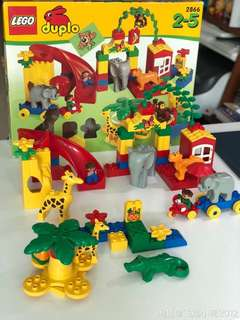 Lego duplo 2855 zoo and playpark
