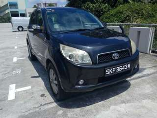 Toyota Rush 1.5A For Grab/Ryde Usage