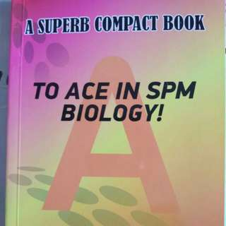 Ace an A spm biology easily