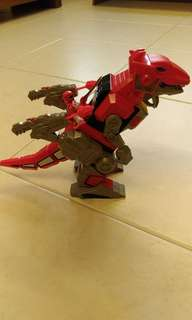 Imaginext Red Power Ranger T rex Dinotbot