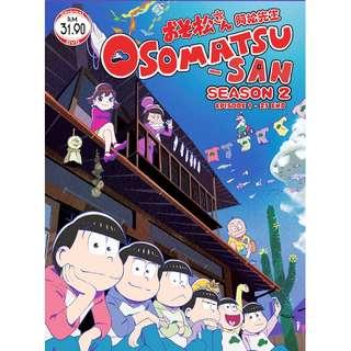 Osomatsu-San Sea 3 Ep.1-25 End Anime DVD