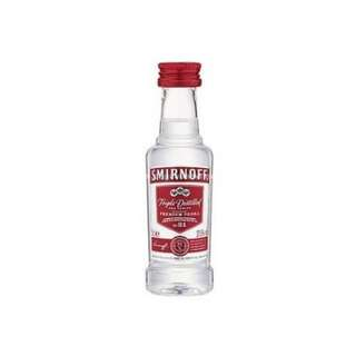 Smirnoff No.21 Vodka - Red Label (Minibottle) 斯米諾伏特加 - 原味 (酒辦)