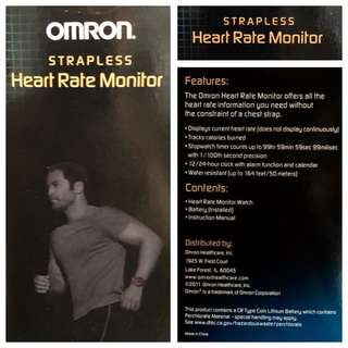 Omron Heart Rate Monitor watch (BNIB)