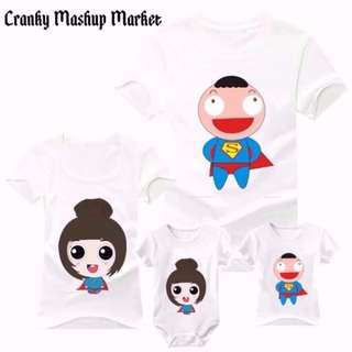 Family/Couple Tee With Romper (CMM-FCTR)