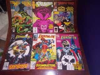Vintage Marvel and Dc Comics!