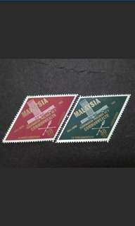 Malaysia 1963 9th Commonwealth Parliamentary Conference Complete Set - 2v MH Stamps #2