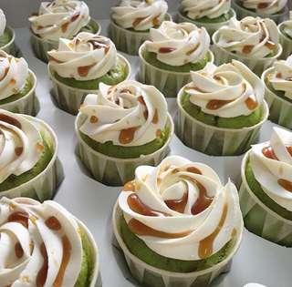 Pandan Gula Melaka Cupcake