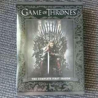 Game of thrones (complete first season)