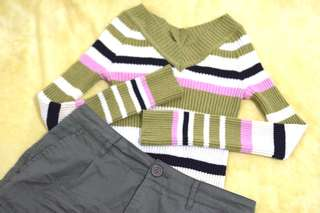Stretchable Slim Fit Sweater