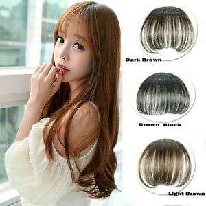 Korean Bangs Wig