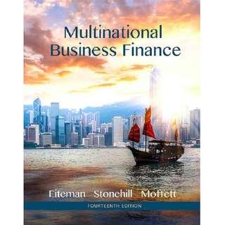 Multinational Business Finance 14th Fourteenth Edition by David K. Eiteman, Arthur I. Stonehill, Michael H. Moffett - Pearson