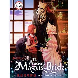 The Ancient Magus Bride Ep.1-24 End Anime DVD