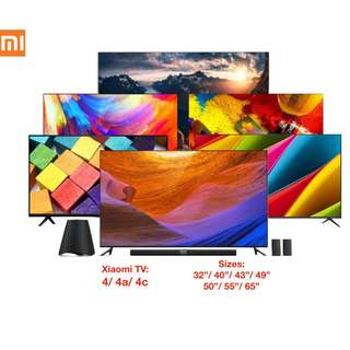 TV Xiaomi 4K Android Smart TV Frameless Latest Models
