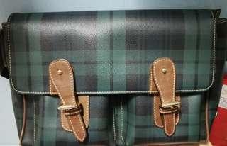 9成新 Polo 經典 書包款 斜帶 袋