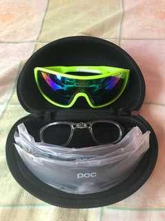 Cycling shades