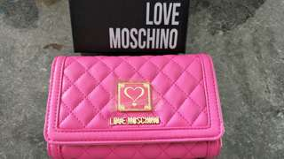 Love Moschino Hot Pink Wallet