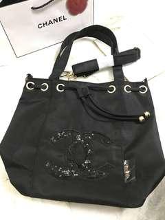 Chanel Vip gift sling bucket bag