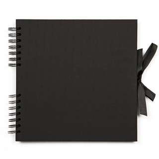 Black Scrap Book