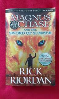 'Magnus Chase & the Sword of Summer' by Rick Riordan