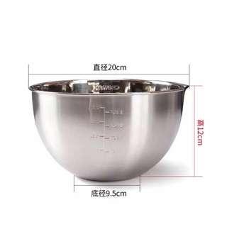 特價!現貨!學廚 Chefmade 304不鏽鋼打蛋盆